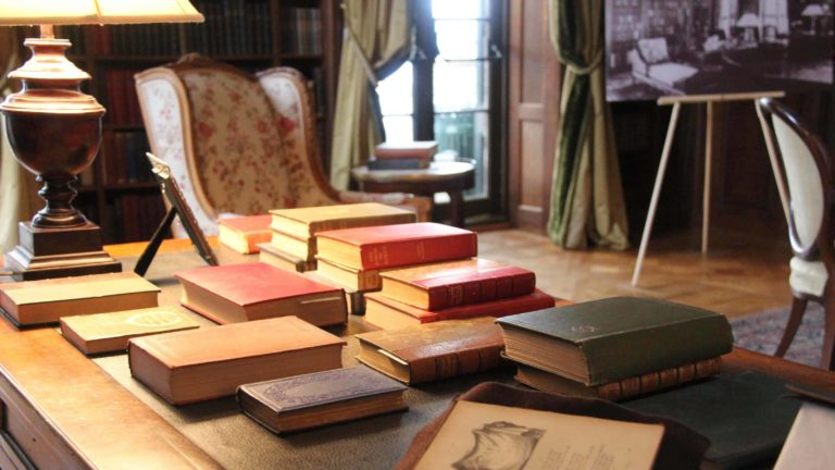 The Mount in Lenox holds many books from Edith Wharton's own library.