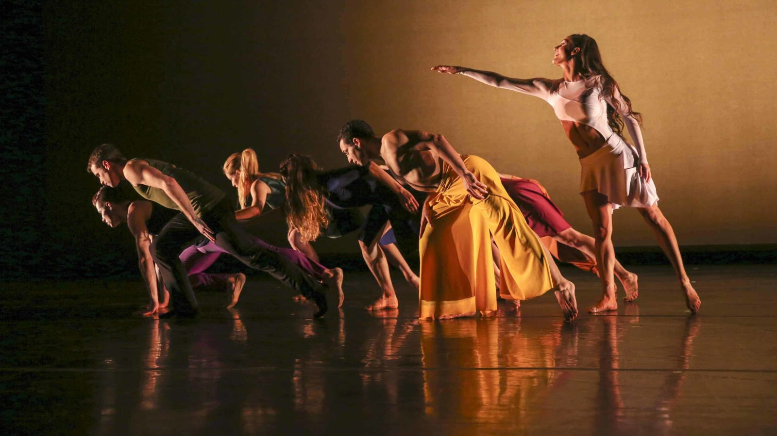 Parsons Dance, shown here performing 'Introduction,' appears regularly at Performance Space 21 in August.