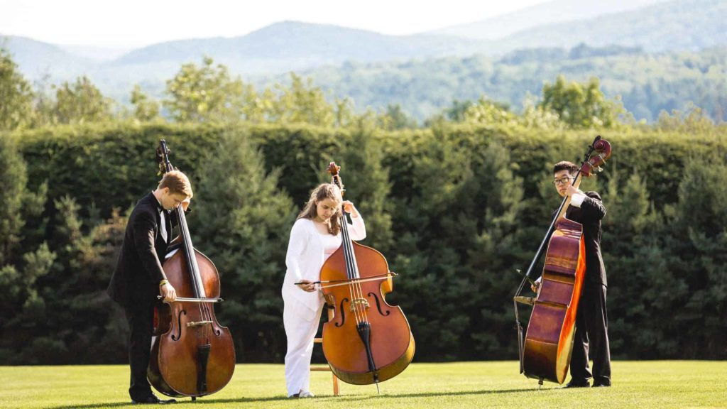 Boston University's Tanglewood Institute will perform at Tanglewood in Lenox. Photo by Natasha Moustache for Boston University.