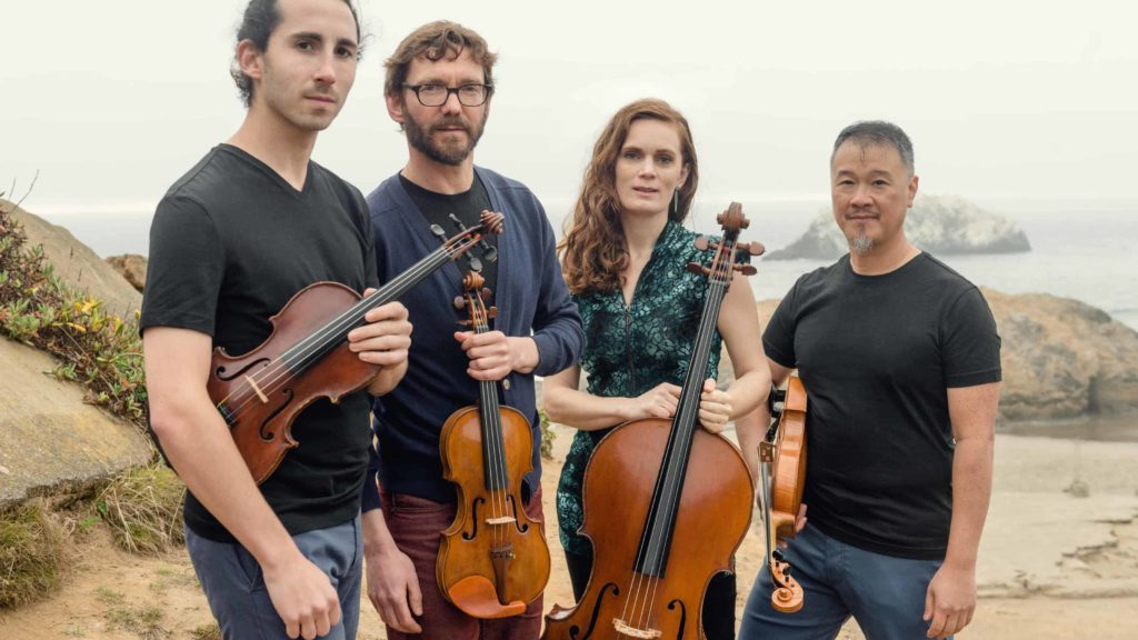 The Del Sol String Quartet will play the Foundry in November. Image courtesy of the artists.