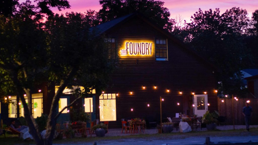 The Foundry in West Stockbridge is a center for arts and performance.