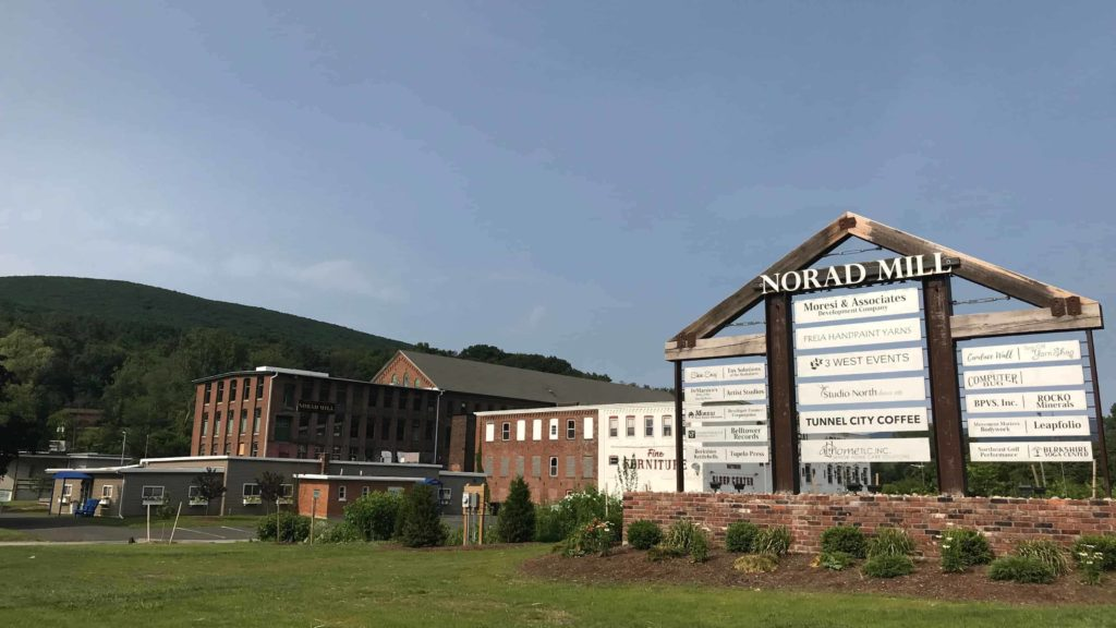 The renovated Norad Mill in North Adams now houses artists, artisans and entrepreneurs.