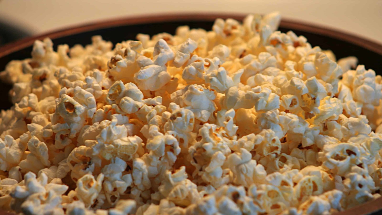 Popcorn glimmers in a warm light. Creative Commons courtesy photo.
