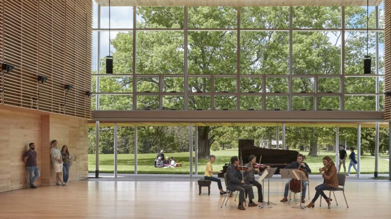 The Tanglewood Learning Institute holds events year-round. Press photo courtesy of the Boston Symphony Orchestra.